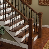 Staircase Railing On Empire Mouldings Boards Stair Systems Railing And Parts